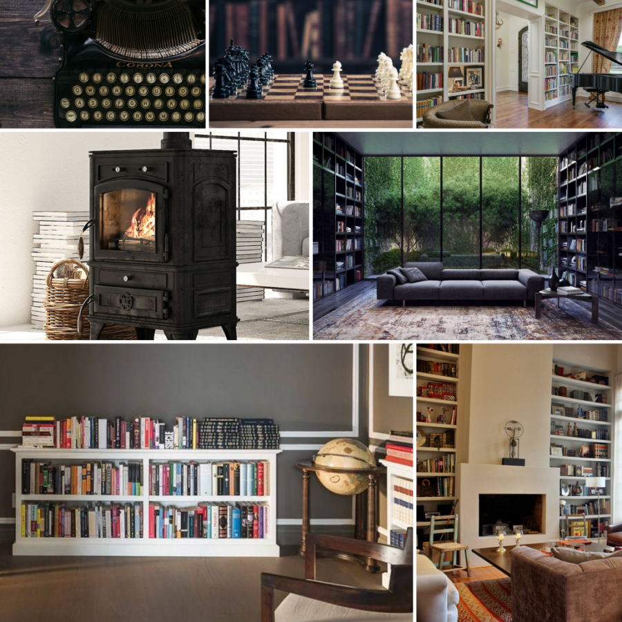 Mood Board | Scholarly Studies and Libraries