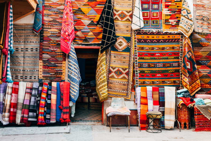 Inspired by Travel   How to Bring the Colors of Marrakesh Home